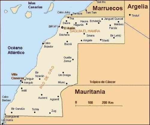 Territorios del Sáhara Occidental